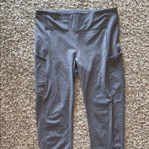 Lululemon Fast and Free Crop Leggings